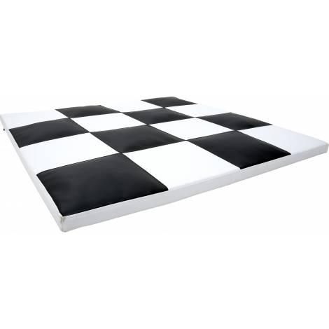 Saltea senzoriala alb-negru Sah