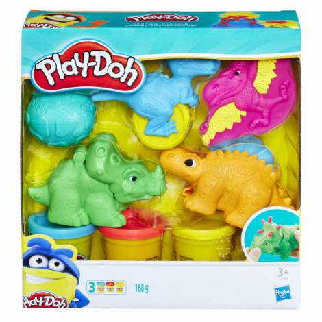 Play doh set scule dino