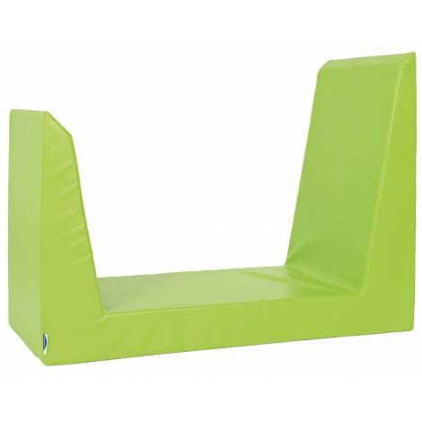 Saltea verde pentru dulap Quadro Casuta