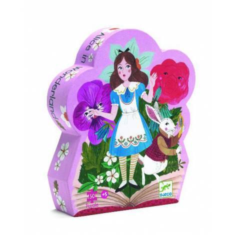 Puzzle Djeco - Alice în țara minunilor