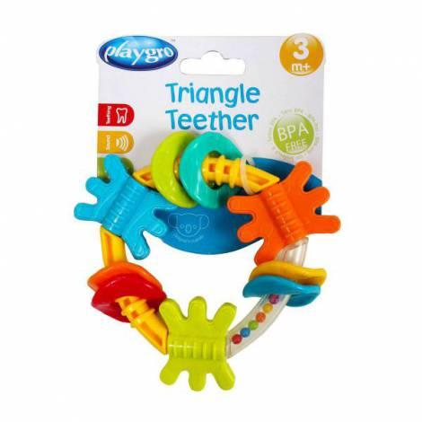 Jucarie de dentitie cu zornaitoare Triunghi