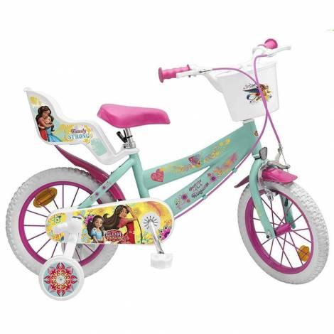 Bicicleta copii 14 inch Elena din Avalor