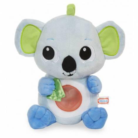 Koala de plus albastru cu lumina si sunete