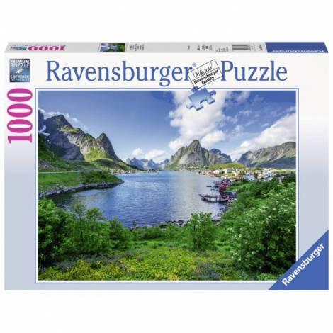 Puzzle Portul Lofoten, 1000 Piese imagine