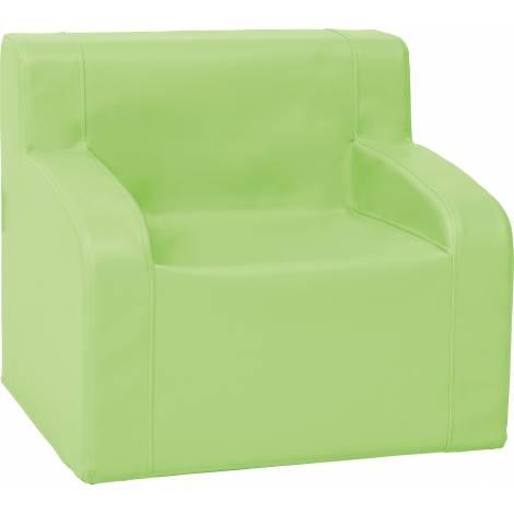 Fotoliu verde din spuma