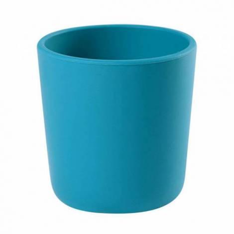 Pahar silicon bleu