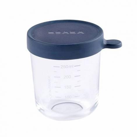 Recipient ermetic sticla 250ml bleu