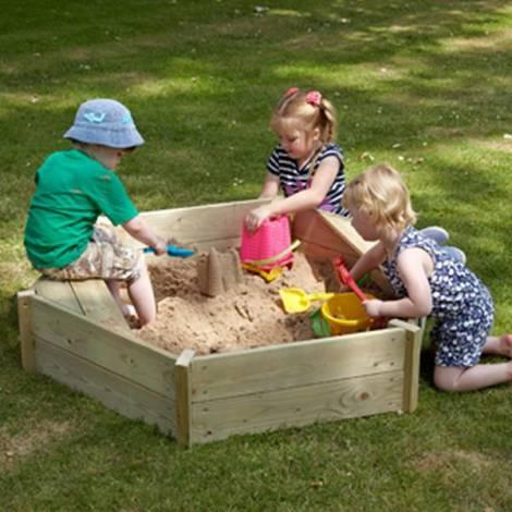 TP Toys-Lada de nisip Castlewood Sandpit + Husa