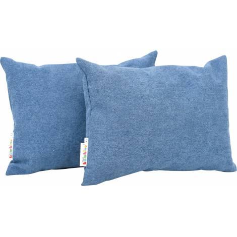 Set 2 perne decorative dreptunghiulare Albastru Navy