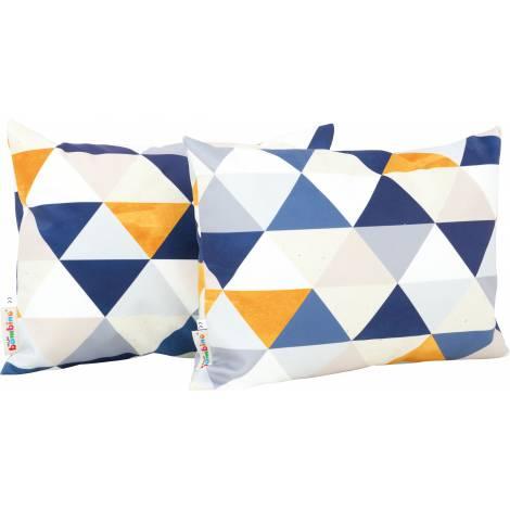 Set 2 perne decorative dreptunghiulare Triunghiuri