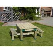 TP Toys - Masuta din lemn picnic
