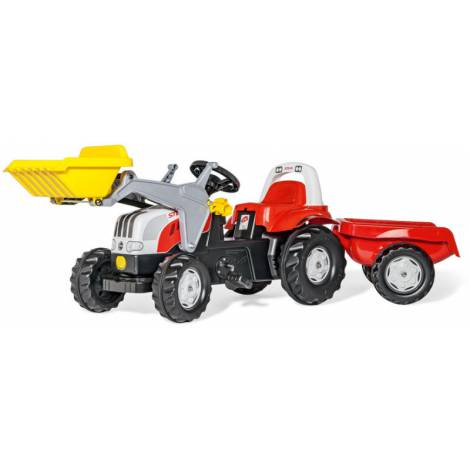 Tractor cu pedale Kid Rosu