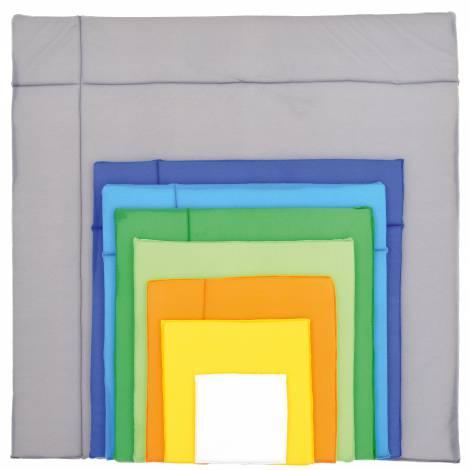 Decor pentru perete Patrate colorate