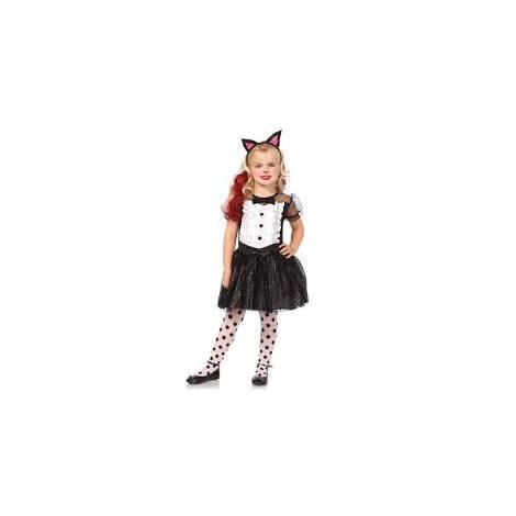 Costum pisica halloween 3-4 ani - marimea 158 cm