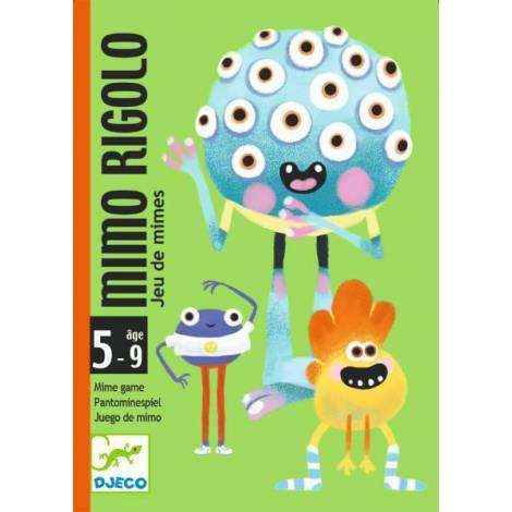 Joc cu cărți Djeco Mimo Rigolo