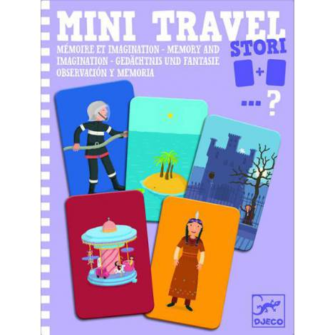 Mini travel Djeco joc de memorie și imaginație
