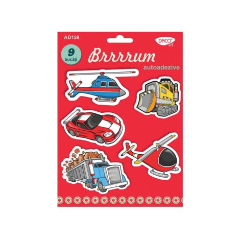 Masini spuma autoadeziva - Brrrrum