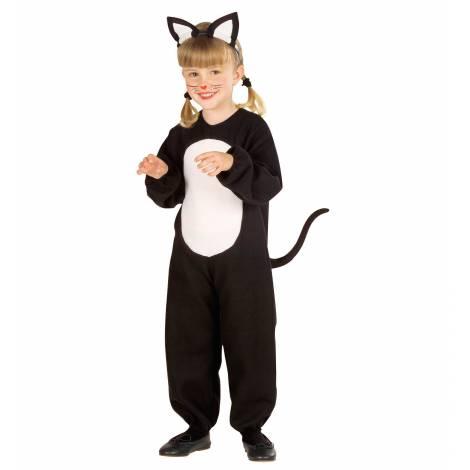 Costum pisica halloween 3-4 ani