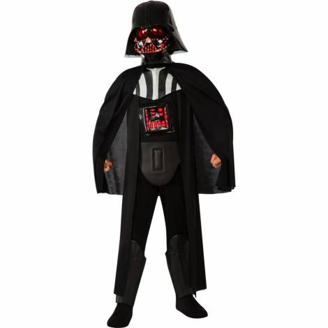 Costum star wars darth vader light-up 7-8