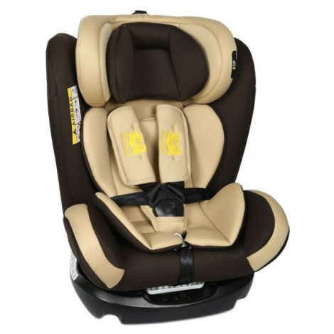 Scaun Auto Riola plus cu Isofix Coffee light 0 36 kg Crocodile