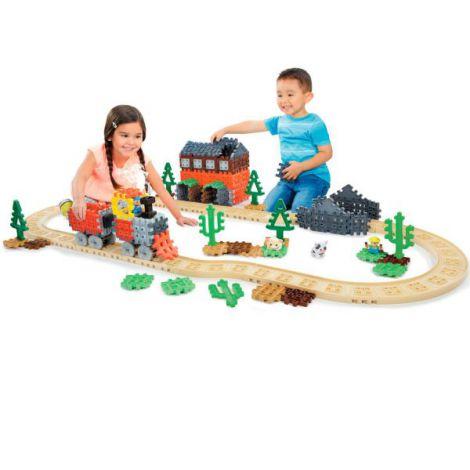Blocuri de constructie - Tren cu aburi