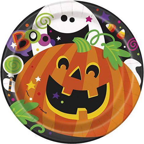 Farfurii happy halloween 8 buc