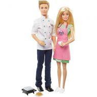 Set papusi Barbie şi Ken la cafenea