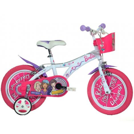 Bicicleta copii 14 - barbie dreams