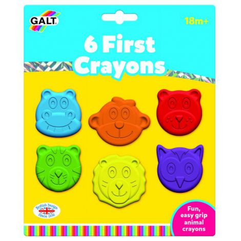 Set 6 creioane colorate - animalute