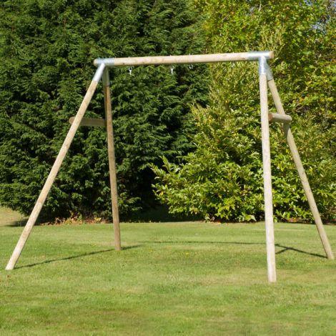 TP Toys- Structura din lemn pentru leagan dublu