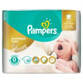Scutece Pampers 0 New Baby Premium Care sub 2.5kg (30)buc