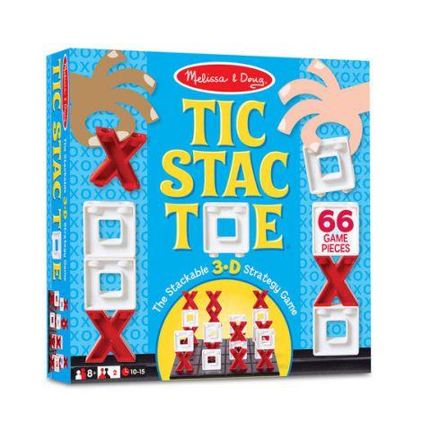 Joc X si O 3D Tic Stac Toe Melissa & Doug