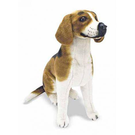 Catel din plus realistic Beagle - Melissa and Doug