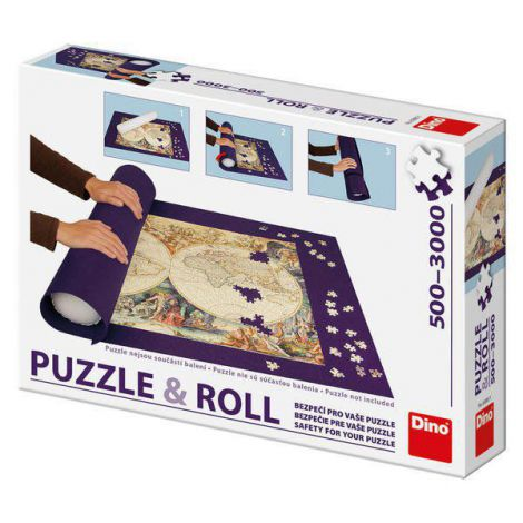 Suport rulou puzzle