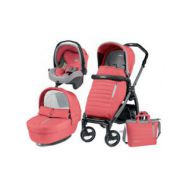 Carucior 3 In 1, Peg Perego, Book Plus S, Black, Breeze