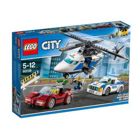 LEGO City Urmarire de Mare Viteza 60138