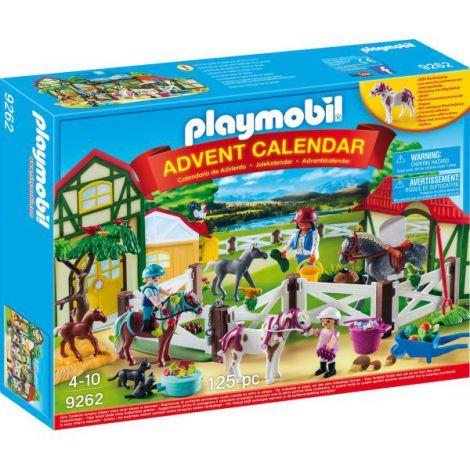 Calendarul De Craciun Playmobil Ferma Calutilor imagine