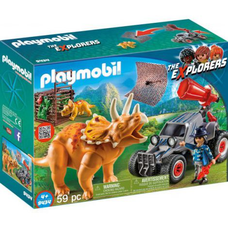 Cercetator - Automobil Si Triceratops imagine