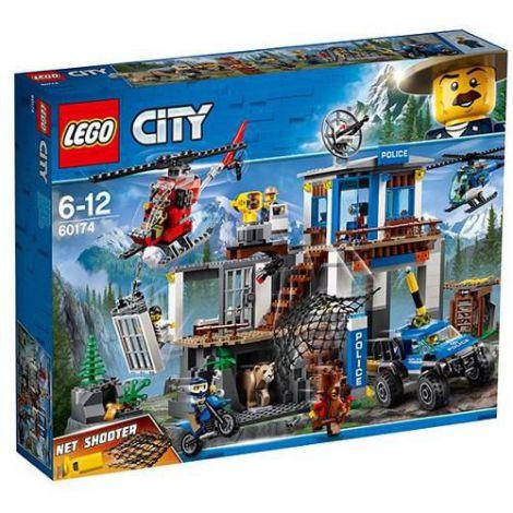 LEGO City Cartierul General al Politiei Montane 60174