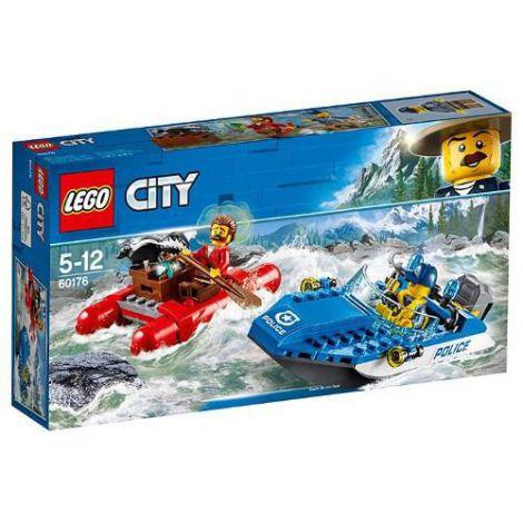 LEGO City Evadare pe Rau 60176