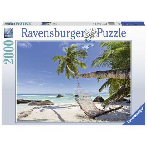 Puzzle Hamac pe plaja, 2000 piese
