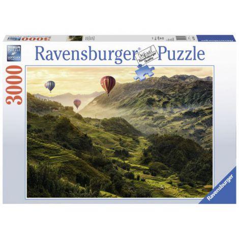 Puzzle Terase de orez, 3000 piese