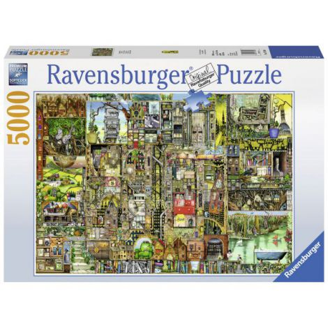 Puzzle Orasul bizar, 5000 piese