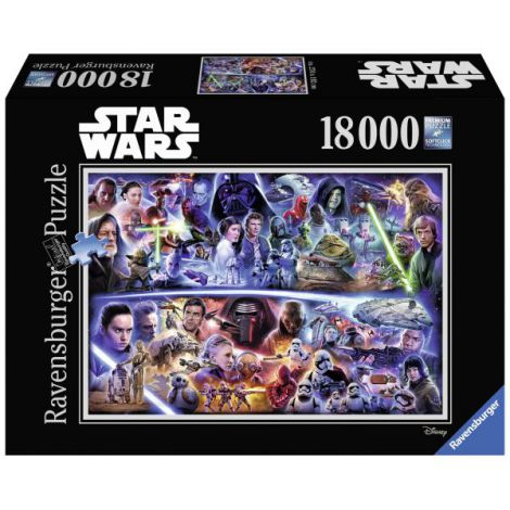 Puzzle Star Wars I-vII, 18000 piese