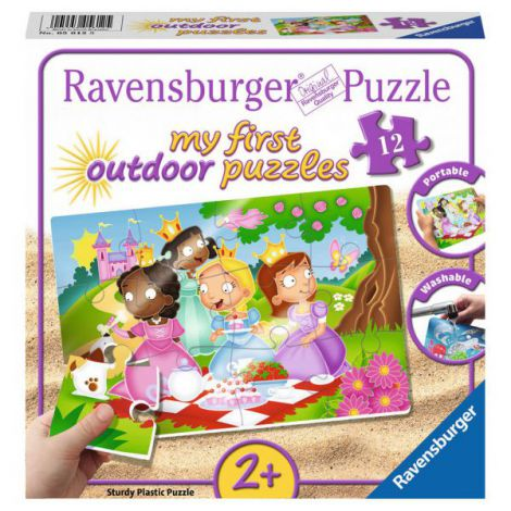 Puzzle printese dragute, 12 piese
