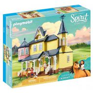 Casa lui Lucky si a calutului Spirit - Playmobil