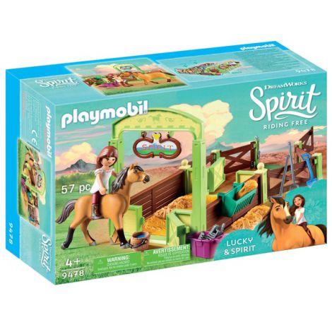 Spatiu ingrijire cai - lucky si spirit PM9478 Playmobil Spirit