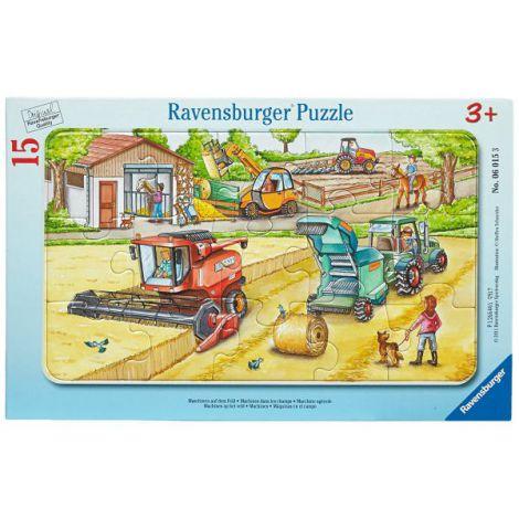 Puzzle masinarii, 15 piese