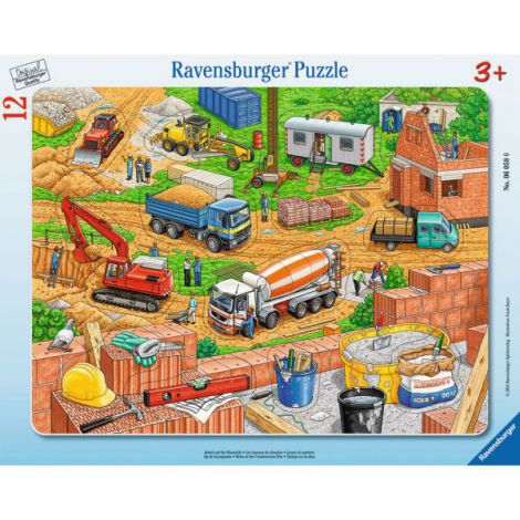 Puzzle Santier, 12 Piese imagine