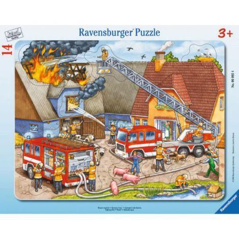 Puzzle pompieri, 14 piese
